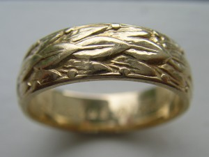 old gold ring
